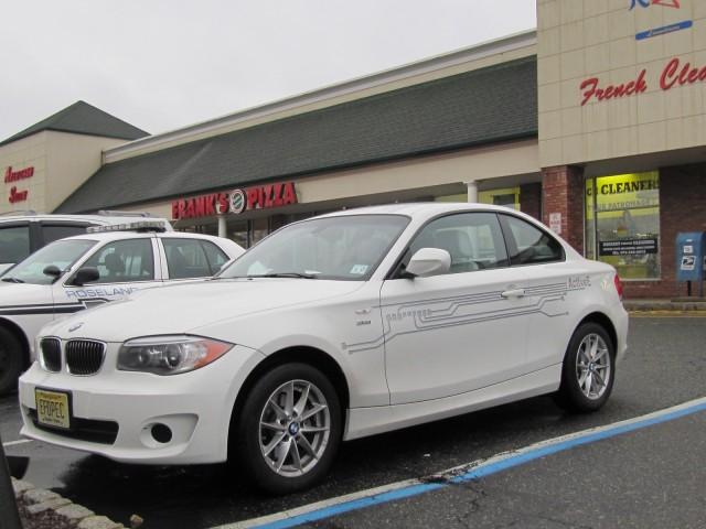 BMW ActiveE electric car, January 2012, New Jersey