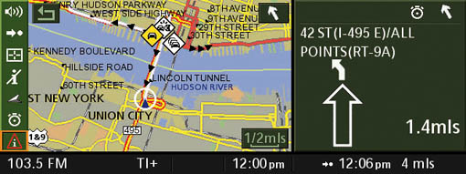 BMW adds real time traffic information to its 2007 navigation systems