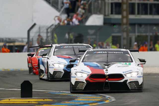 BMW at the 2018 24 Hours of Le Mans