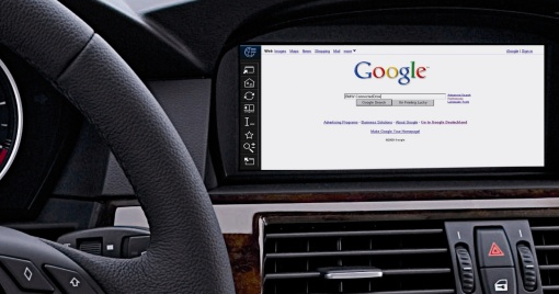 BMW ConnectedDrive takes the Internet on the road