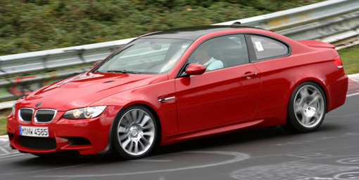 BMW E92 M3 CSL Spotted at the Nurburgring?