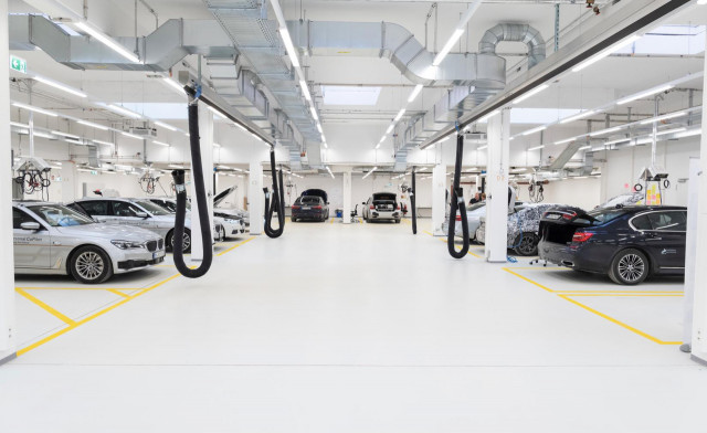 BMW Group Autonomous Driving Campus in Unterschleißheim, Germany