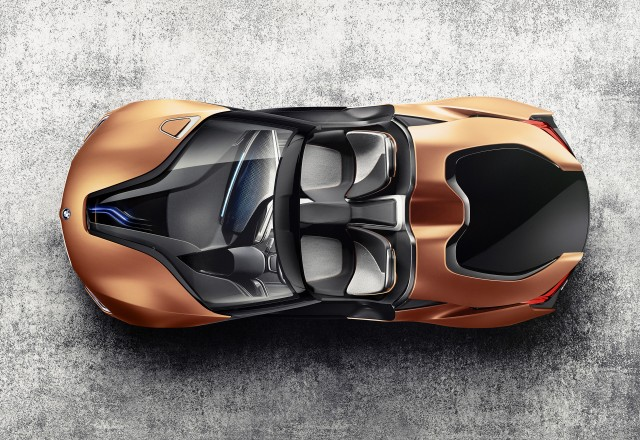 BMW i Future Interaction concept - 2016 Consumer Electronics Show