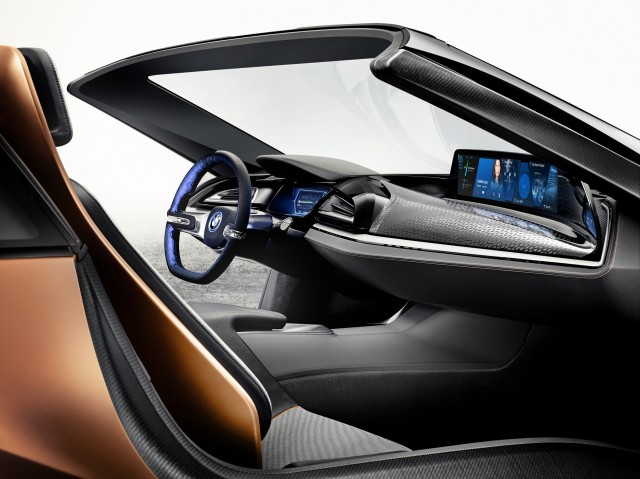 Bmw I Future Interaction Concept At Ces Hints At I8 Spyder Again
