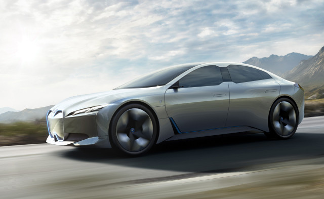BMW teases design concept for iNext electric auto