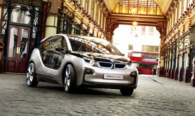 First Bmw I Store Opens In London I3 Concept Gets New Interior
