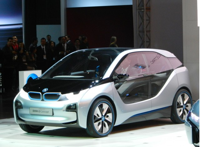 BMW i3 Concept, Nov. 2011