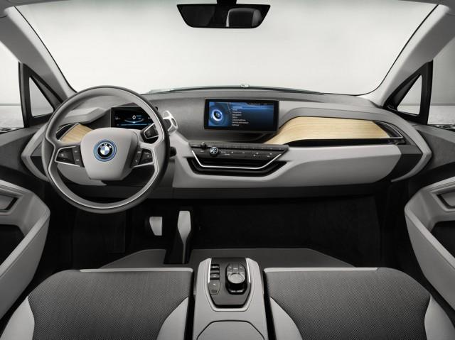 2014 Bmw I3 Electric Car Connectivity Navigation Highlights