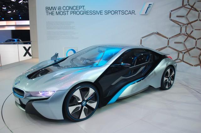 Bmw I8 Concept Live Photos 2011 Frankfurt Auto Show
