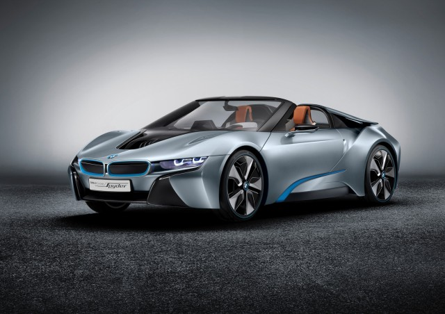Long Delayed Bmw I8 Spyder Plug In Hybrid Due In 2018