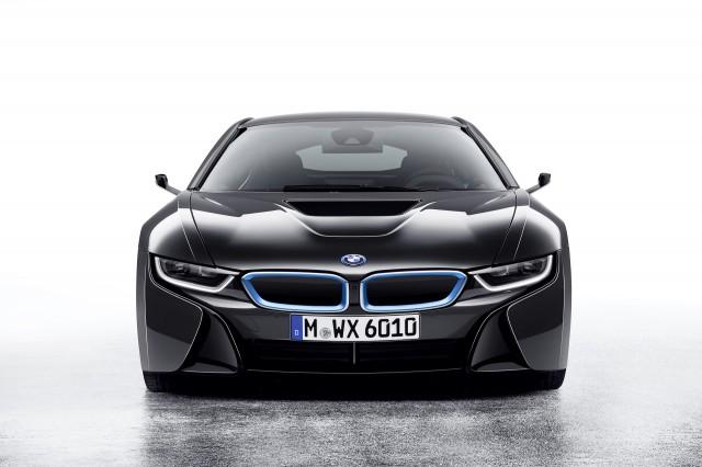 BMW i8 Mirrorless concept - 2016 Consumer Electronics Show
