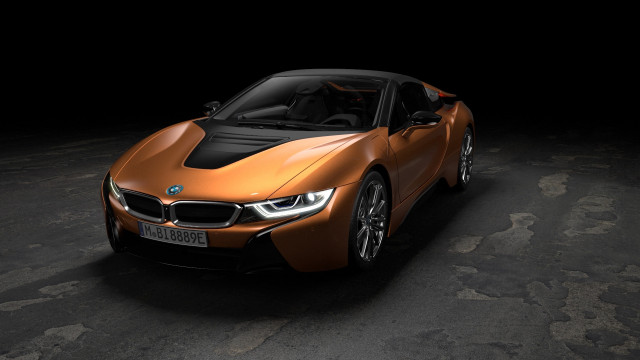 BMW's i8 drops its top, gets more perk