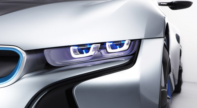 BMW laser headlight technology