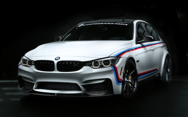 BMW M3 equipped with M Performance parts, 2016 SEMA show