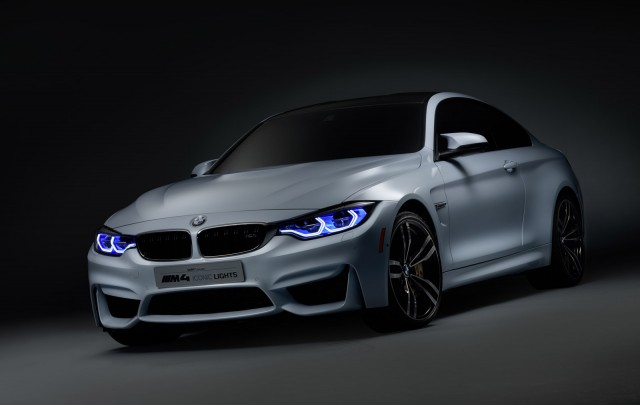 BMW M4 Concept Iconic Lights, 2015 Consumer Electronics Show