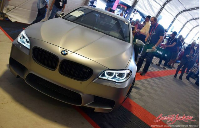 BMW M5 30 Jahre Edition at Barrett-Jackson Scottsdale Auction