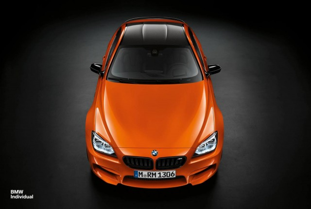 BMW M6 Fire Orange by BMW Individual