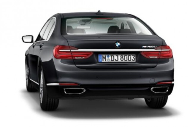 BMW M760Li on BMW website's configurator - Image via BimmerToday