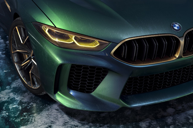 BMW Concept M8 Gran Coupe Is A New Take On Luxury