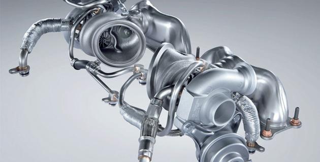 BMW N54 turbocharger