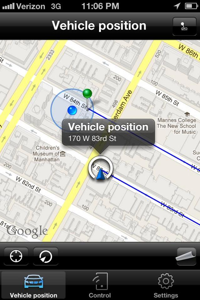 BMW Remote Mobile App