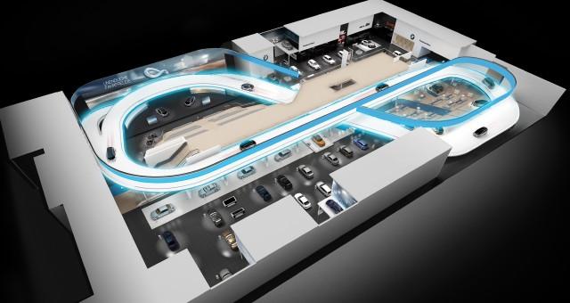BMW Track at Frankfurt Auto Show