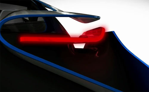 BMW Vision EfficientDynamics Teaser