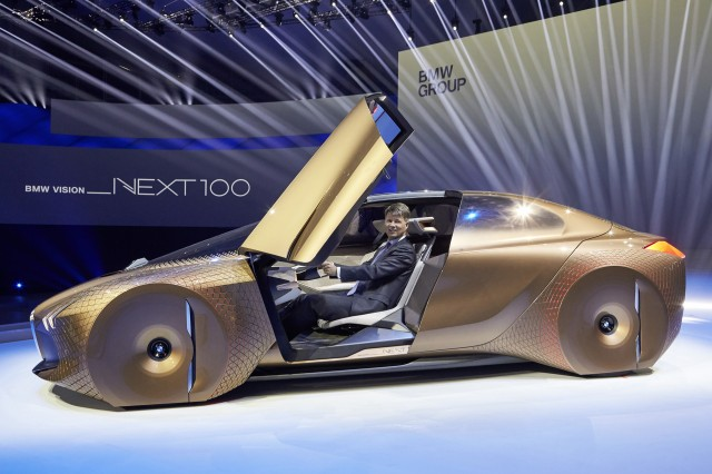 BMW Vision Next 100, Aston Martin future, Ferrari LaFerrari Spider ...
