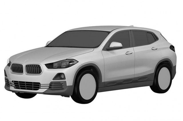 BMW X2 patent drawing