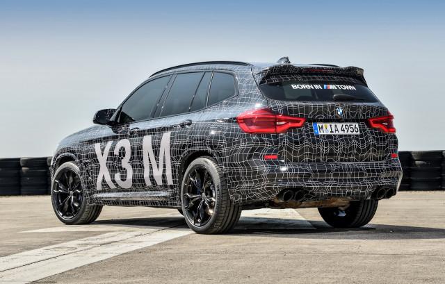 BMW X3 M prototype