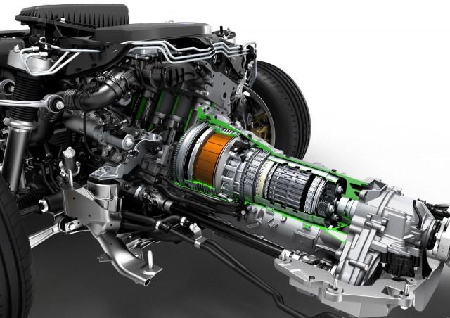 BMW X5 eDrive plug-in hybrid prototype
