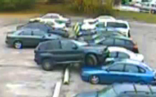 BMW X5 Parking Fail