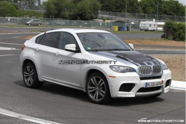 BMW X6 M 'special edition' spy shots