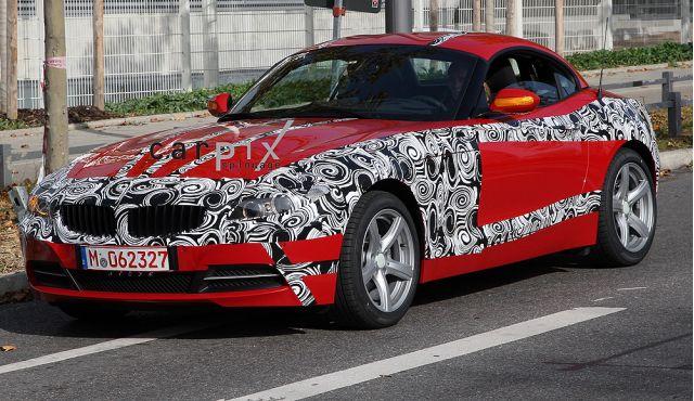 Spy Shots: 2009 BMW Z4