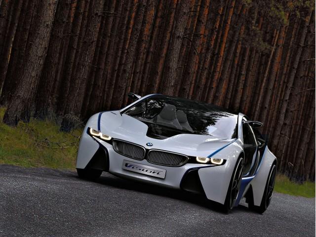 BMW Vision EfficientDynamics Concept, 2009 Frankfurt Auto Show