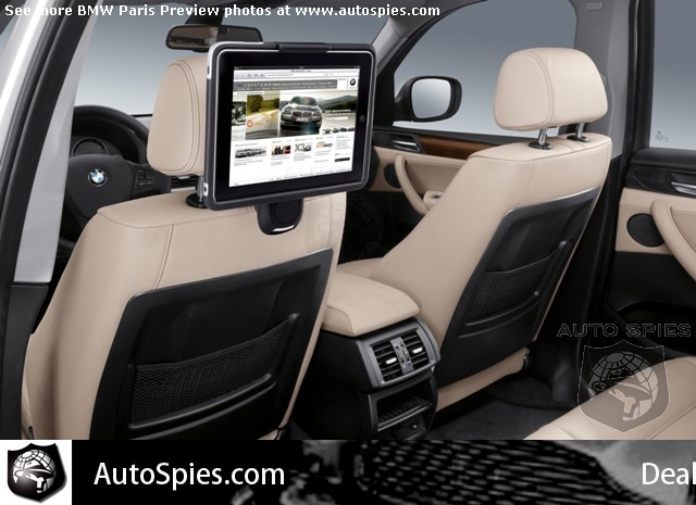 BMW iPad dock (Paris 2010 preview via AutoSpies)