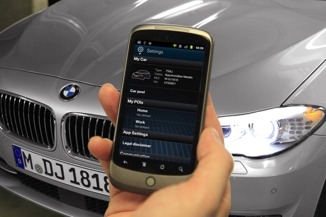 BMW ConnectDrive technologies