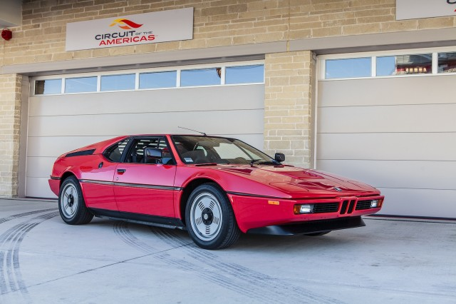 BMW M1 at Circuit Of The Americas