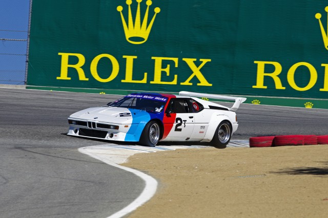 1981 BMW M1 IMSA Group 4 to race at the Rolex Monterey Motorsport Reunion 2015