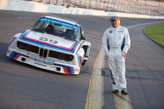 Brian Redman and the 1972 BMW 3.0 CSL