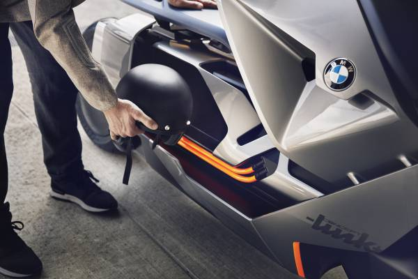 bmw motorrad concept link reimagines two-wheeled urban transport