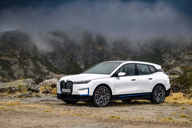 BMW iX SUV leads next generation of brand's electric vehicles