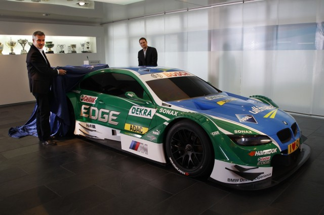 BMW's DTM M3 in Castrol / Aral livery