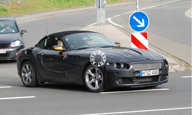 Spy Shots Bmw Z4 Facelift