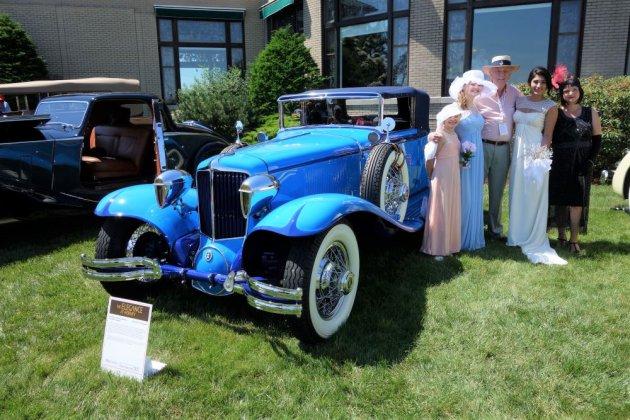 Bob Jepson with his 1929 Cord L29 | Andy Reid photo