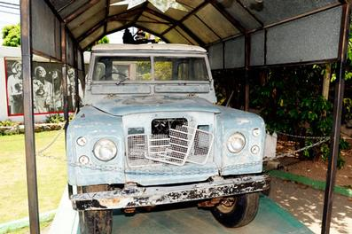 Bob Marley's Land Rover. Image: The Jamaica Star