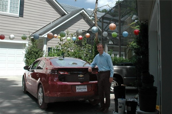 Bob Stonerock S Solar Chevrolet Volt