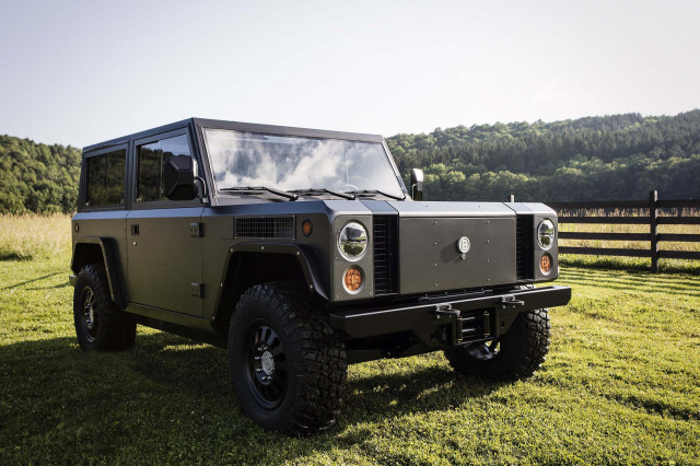 Bollinger B1 The Electric Utility Truck