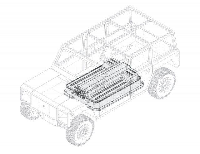 Bollinger reveals modular battery layout, patent filing