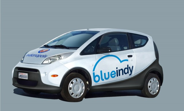 Bolloré launches BlueIndy electric-car sharing service in Indianapolis